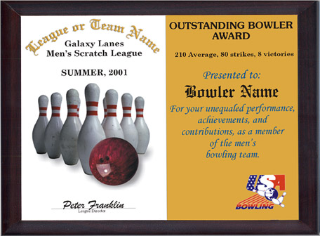 Bowling awards gifts for Bowling certificates template free