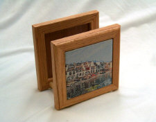 Wood Gift Products With Personalized Ceramic Tiles
