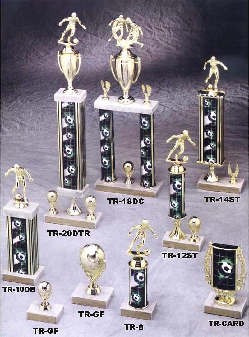 Traditional Soccer Trophies