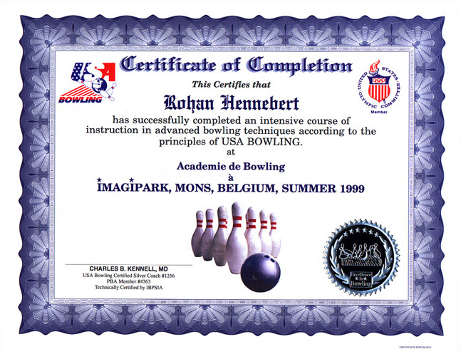 Bowling Custom Certificates Largest Selection Of Sculpture Awards