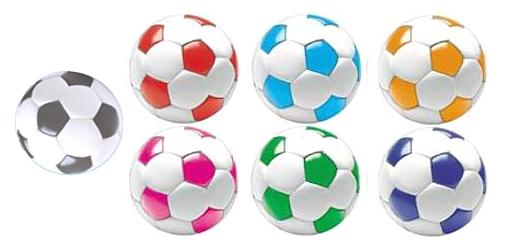 Diffcolorsjpg - Custom soccer ball car magnets